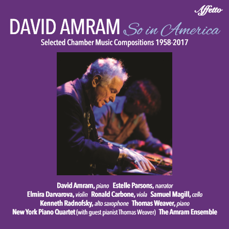 So in America by David Amram