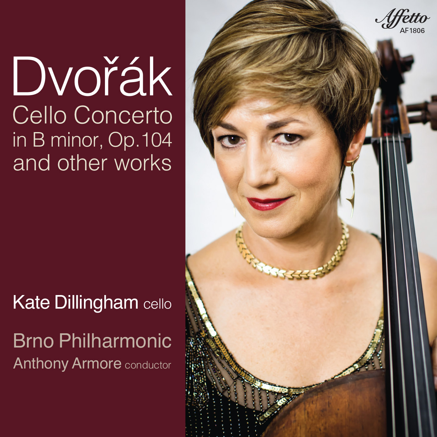 Kate Dillingham – Dvorak / Cello Concerto in B minor, Op. 204 and other works