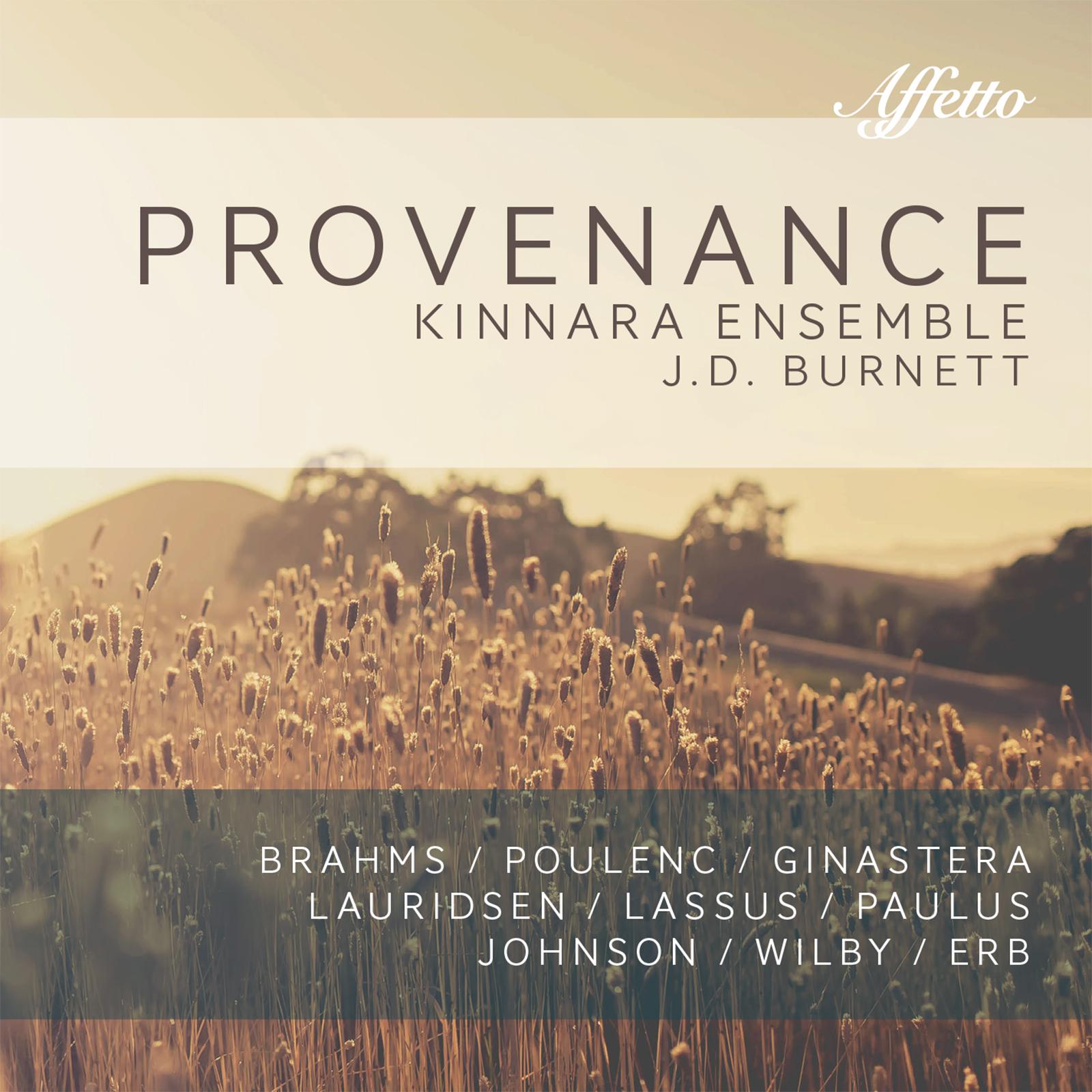 Provenance by the Kinnara Ensemble / J.D. Burnett